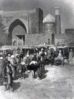 Рынок в Самарканде