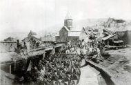 Вступление в Тифлис 17-го Егерского полка