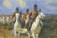Кавалеристы - © Музей-панорама «Бородинская битва»