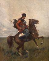 Всадник с пикой - © Музей-панорама «Бородинская битва»