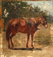 Рыжая лошадь - © Музей-панорама «Бородинская битва»