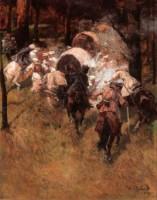 Нападение казаков на царский конвой