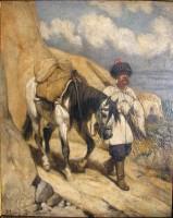 Казак с лошадью