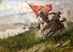 Битва всадников - © Государственный мемориальный музей А.В. Суворова