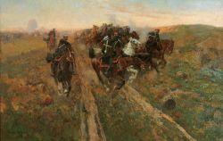 Битва при Кюрюк-Дара 24 июля (5 августа) 1854 года - © ГАУК ЯО «Ярославский художественный музей»