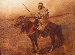 Араб на лошади - © Музей-панорама «Бородинская битва»