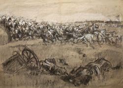 Атака французских кирасир - © Музей-панорама «Бородинская битва»