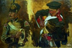 Горнист и заряжающий солдат - © Севастопольский военно-исторический музей-заповедник