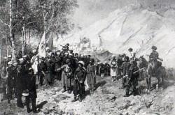 Взятие Гуниба и плен Шамиля 25 августа 1859 года