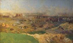 Атака на батарею Раевского - © Бородинский военно-исторический музей-заповедник