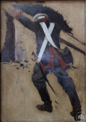 Солдат со спины - © Севастопольский военно-исторический музей-заповедник