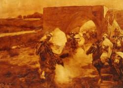Атака - © Национальный художественный музей Республики Беларусь