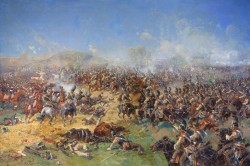 Сражение при Бородино 26 августа 1812 года - © Военно-исторический музей артиллерии, инженерных войск и войск связи