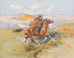 Бой за знамя - © Научно-художественный Музей коневодства