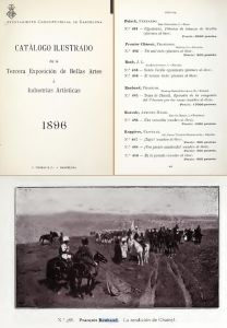 Каталог барселонской художественной выставки 1896 года