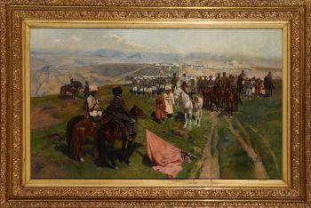 Картина Франца Рубо«Кавказское перемирие 1864 года»