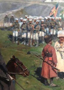 Фрагмент картины«Кавказское перемирие 1864 года»