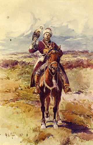 Царский сокольник - © Музей-панорама «Бородинская битва»