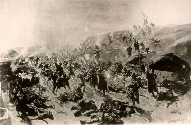 Штурм крепости Геок-Тепе 12 января 1881 года