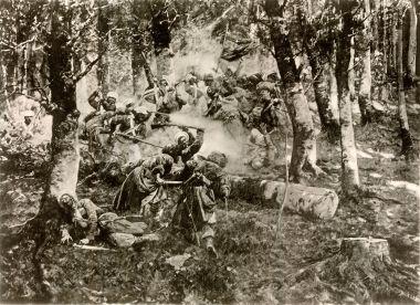 Даргинский поход. Подвиг 3-го батальона Апшеронского полка