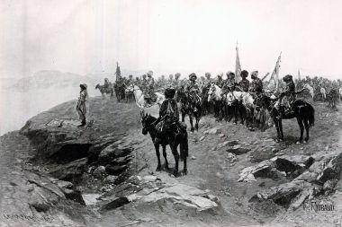 Молитва Шамиля перед битвой с русскими