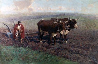 На пашне - © Музей-панорама «Бородинская битва»