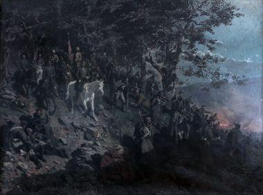 Взятие аула Дарго 6 июля 1845 года - © Национальный музей Республики Дагестан им. А. Тахо-Годи