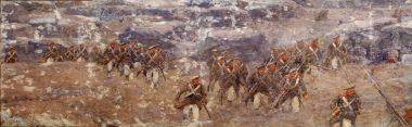 Атака - © Музей-панорама «Бородинская битва»