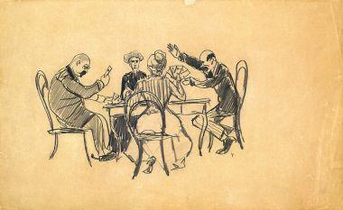 Игра в карты - © Музей-панорама «Бородинская битва»