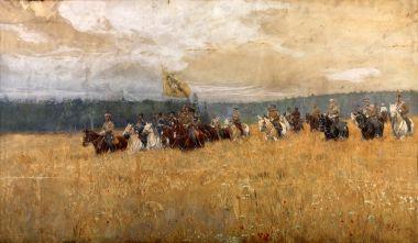 На маневрах - © Музей-панорама «Бородинская битва»