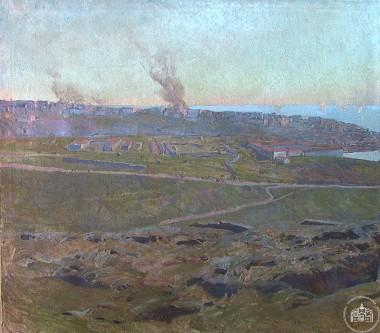 Вид от Малахова кургана - © Севастопольский военно-исторический музей-заповедник