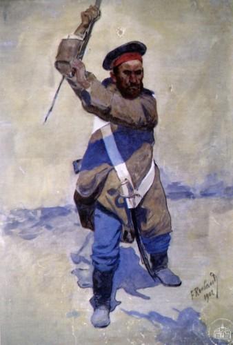 Атакующий солдат - © Севастопольский военно-исторический музей-заповедник