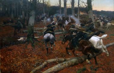 Кавказская разведка - © Музей-панорама «Бородинская битва»