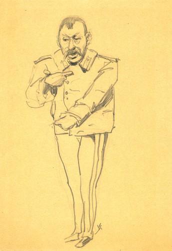 Мужчина в мундире - © Музей-панорама «Бородинская битва»