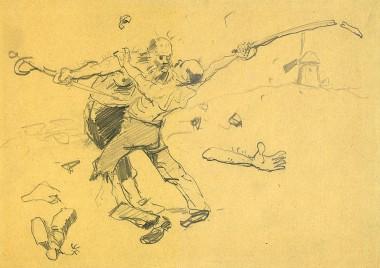 Борьба - © Музей-панорама «Бородинская битва»