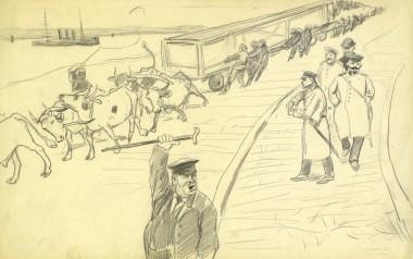 В бухте - © Музей-панорама «Бородинская битва»