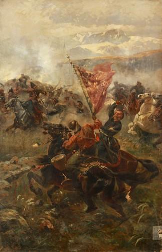 Сражение под Елизаветполем 13 сентября 1826 года - © Национальный художественный музей Республики Беларусь
