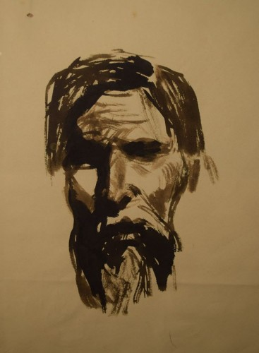Портрет гравера В.В. Матэ - © Научно-исследовательский музей при Российской академии художеств