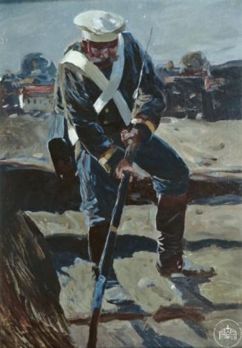 Солдат с ружьем - © Севастопольский военно-исторический музей-заповедник