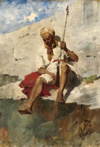 Восточный воин - © Национальный художественный музей Республики Беларусь