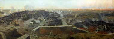 Штурм Малахова Кургана 6 июня 1855 года - © Военно-исторической музей Черноморского флота, Севастополь